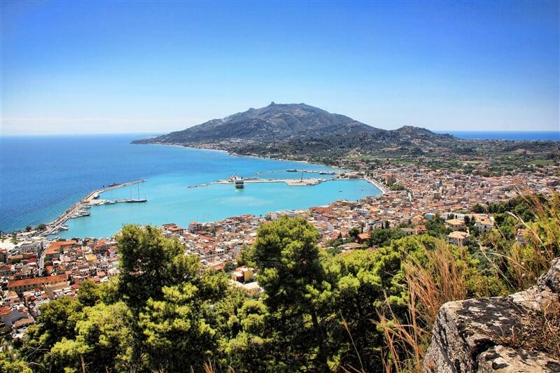 Zakynthos, nebo-li Chora, hlavní město ostrova Zakynthos