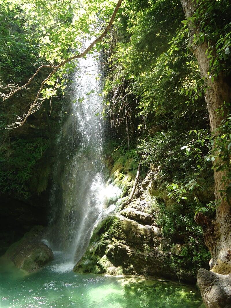 Vodopády na ostrově Kythira