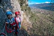 sentiero degli scaloni view on the sarca valley