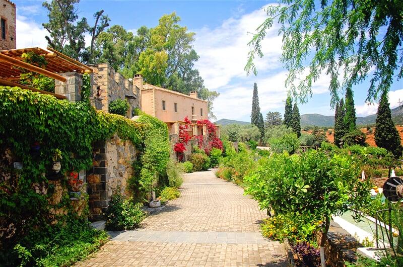 Luxusní vily v řeckém vnitrozemí