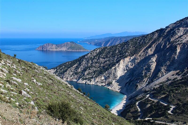 Myrtosbeach na Kefalonii v Řecku (greece, kefalonia, myrtosbeach, řecko)