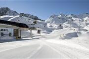 Inverno Ghiacciaio Paradiso cabinovia neve battuta Icaro