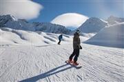 Inverno Snowboard Ghiacciaio pista Icaro DSC5054