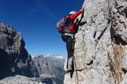 Arrampicata Dolomiti di Brenta Ph S. Bendetti
