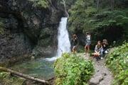 Cascata del Pison Val Meledrio Ph V. Veneri