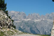 Dolomiti di Brenta view from Paganella Ski