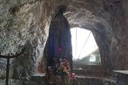 Grotta della Madonna Punta Rocca Marmolada  ©  Alessia Dell'Andrea