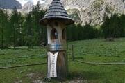 Totem Centro Geografico delle Dolomiti Unesco  ©Alessia Dell'Andrea