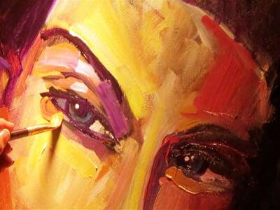 Detaily uměleckého díla