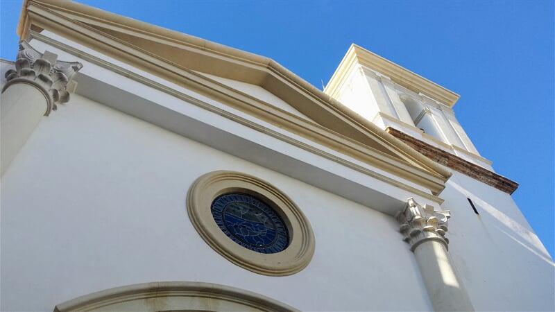 Kostel v Benidorm na Costa Blanca