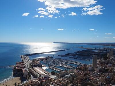 Přístav Alicante na Costa Blanca
