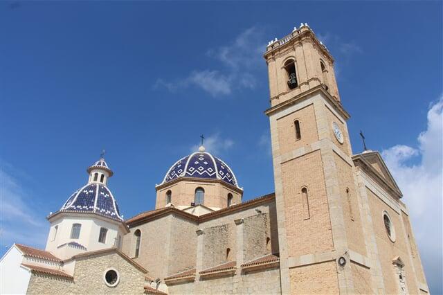 Pobřeží Costa Blanca je plné historických památek
