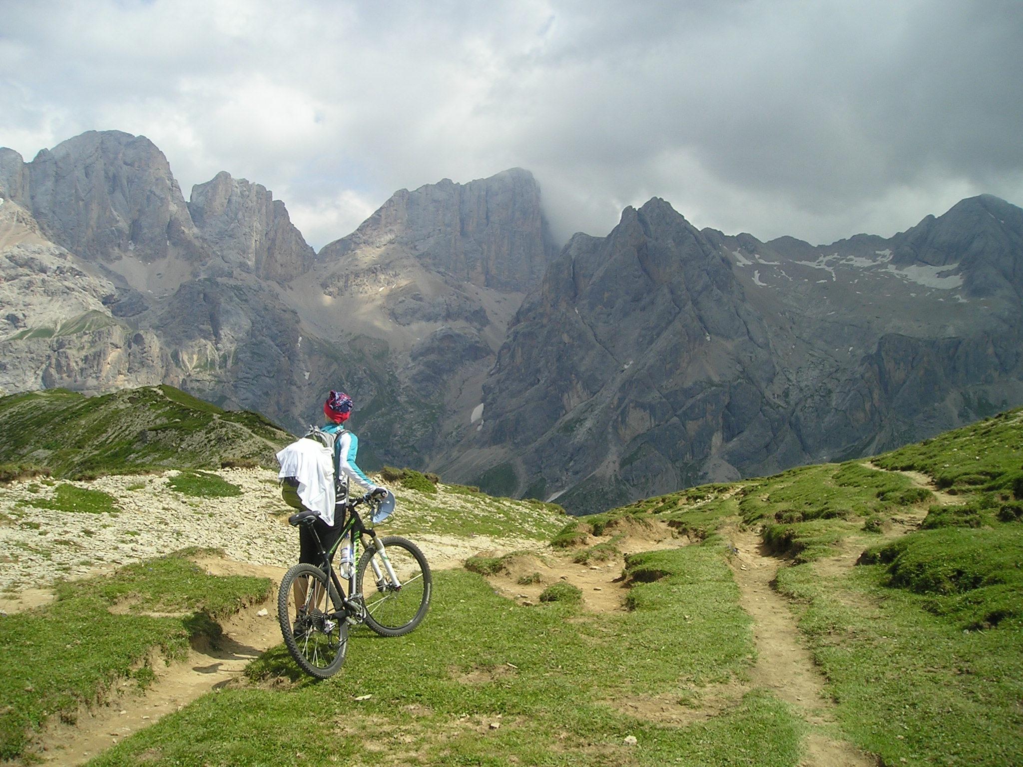 Transalp přes Dolomity