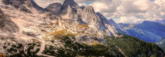 Marmolada, ohromující masiv v srdci Dolomit