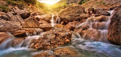 Nejkrásnější vodopády Rakouska