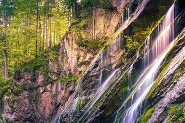 Vodopády v rakouských Alpách