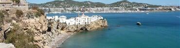 Ibiza, pohled do přístavu