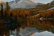 Sunset Croda da Lago Credits Ale Zesta