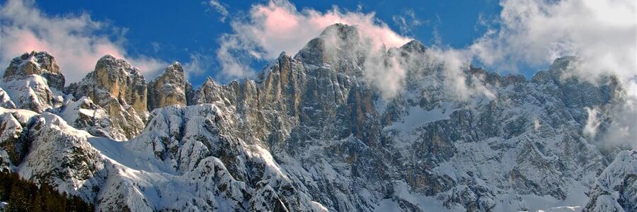 Civetta, lyžování v Dolomiti Superski