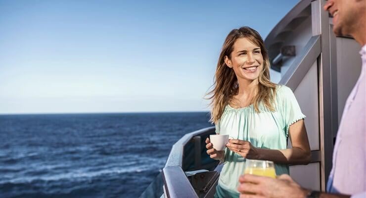 Soukromé kajuty s výhledem na lodích Costa Cruises