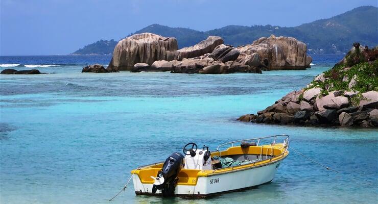 La Digue, jeden z ostrovů souostroví Seychely