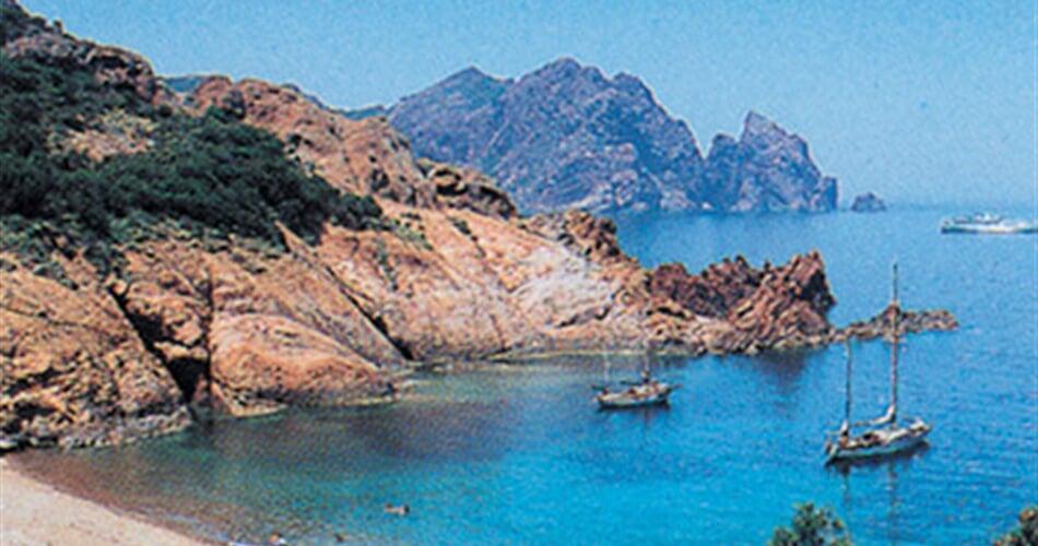 Korsica - pláž