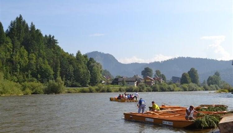 NP Vysoké Tatry - Červený kláštor - plavba na pltích
