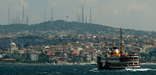 Its a dream to be in Istanbul bosphor turecko