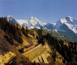 Švýcarsko Eiger