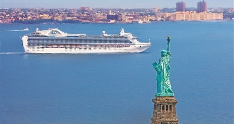 Crown Princess in New York 1