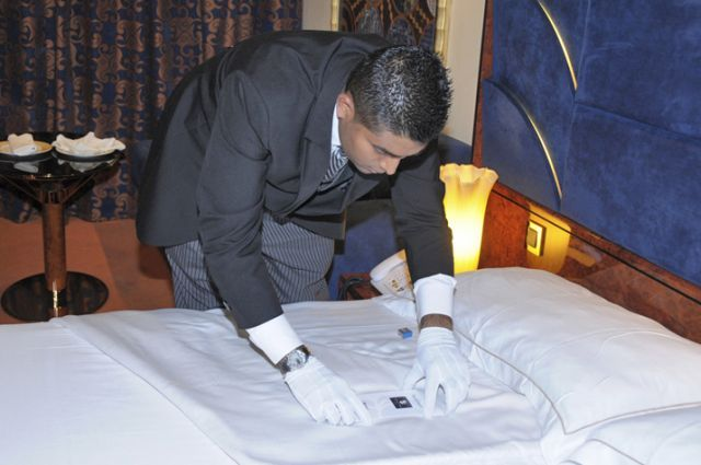 MSC Divina Head Butler Vishesh Bundhoo