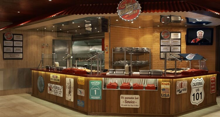 08 Burger restaurant (Copyright of Carnival Cruise Lines)
