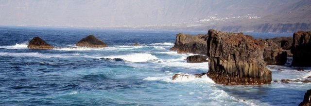 Coast El Golfo canary islands