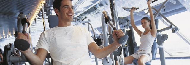 Man at Fitness Centre-2