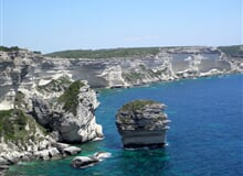 Korsika - turistika a moře