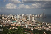 Panorama centra Panama City