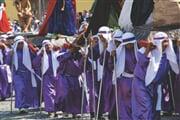 Oslavy během Velikonočního týdne v Antigua