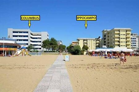 Apartmány Columbus a Ippocampo (8)