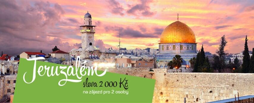 Jeruzalém - poznávací zájezdy do Svatého města