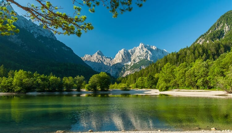 Slovinsko - turistické centrum Kranjska Gora