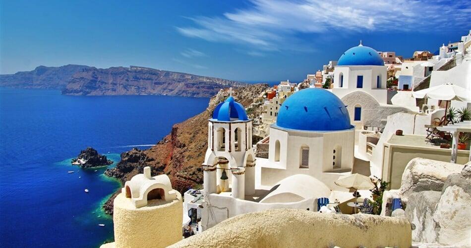 Poznávací zájezd Řecko - ostrov Santorini - Oia