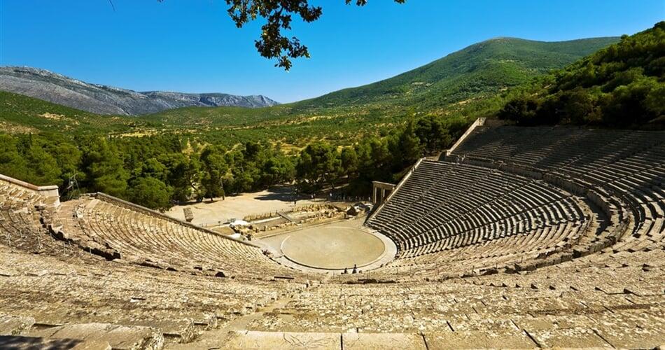 Poznávací zájezd Řecko - Epidaurus