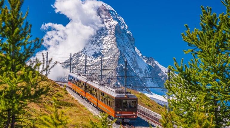 Poznávací zájezd Švýcarsko - Matterhorn