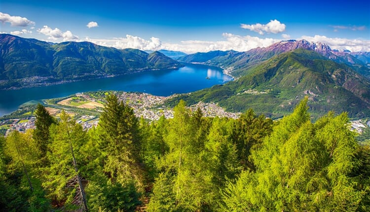 Poznávací zájezd Švýcarsko - Locarno