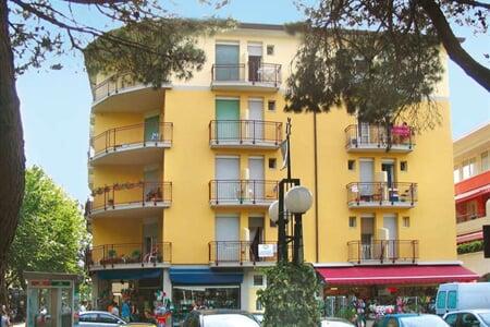 Apartmány Delfino, Bibione (1)