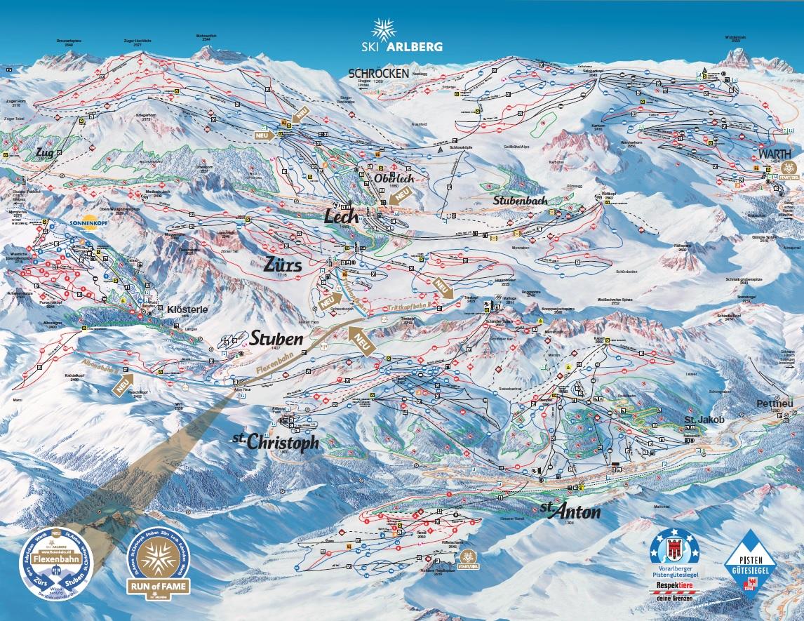 Skimapa_RAK_St.Anton-Arlberg_2016-17