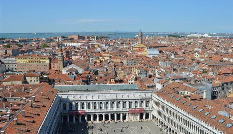 Italské stálice2 Benátky výhled z Campanilly