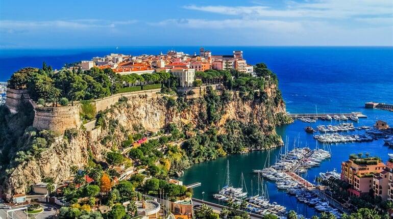Monaco a krásy jižní Francie