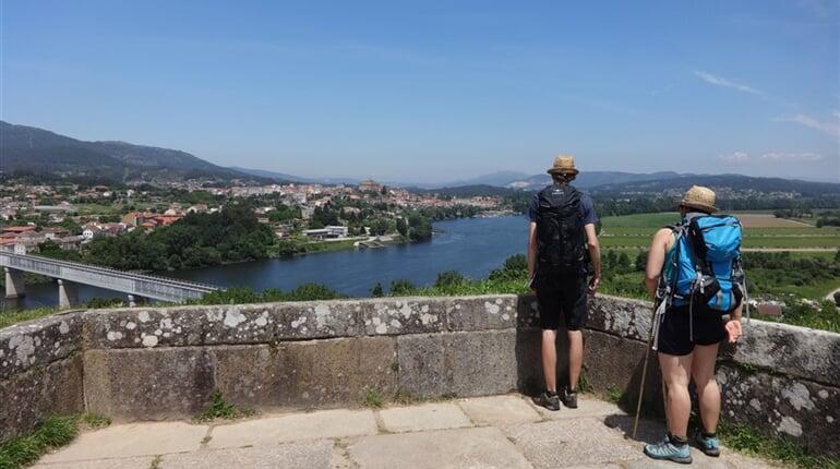 Portugalsko - Svatojakubská - řeka Miňo