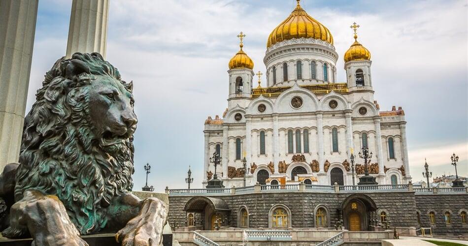 Poznávací zájezd Moskva - katedrála Christ the Saviour